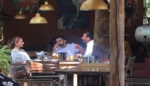 World Cup 2019 से पहले गोवा में पत्नी संग छुट्टी मना रहे विराट कोहली, सोशल मीडिया पर फोटो वायरल