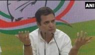 'PM मोदी की प्रेस कांफ्रेंस में घुसना चाहते थे राहुल गांधी लेकिन BJP ने दरवाजा बंद कर लिया'