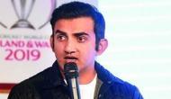 Gautam Gambhir predicts the semi finalists of World Cup 2019