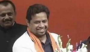 BJP's Anupam Hazra alleges that special ink mark was put on TMC's symbol on EVM