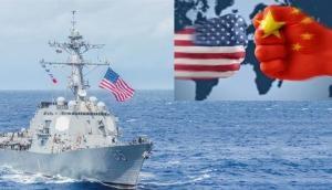 ट्रेड वॉर के बाद अब समंदर में टकराये चीन और अमेरिका