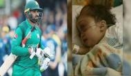 Pakistan cricketer whose daughter died leaves for World Cup after funeral
