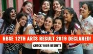 RBSE 12th Arts Result 2019: DECLARED! Girls outperform boys; check your Rajasthan board exam scores in 7 steps
