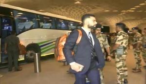 World Cup 2019: भारतीय टीम इंग्लैंड रवाना, तीसरी बार भारत को बनाना चाहेगी विश्व चैंपियन