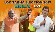 'मोदी सुनामी' से विपक्षी किला ध्वस्त, पीएम मोदी 2 लाख 19 हजार वोटों से आगे, राहुल गांधी पीछे