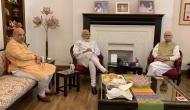 PM Modi, Amit Shah meet veteran leaders LK Advani, Murli Manohar Joshi day after poll victory