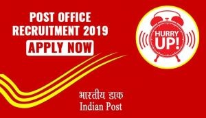 India Post Recruitment 2019: Hurry up! Two days left for 10,000 GDS posts for various post circles; apply now