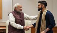 Here's how Virat Kohli congratulated Narendra Modi after BJP's landslide victory