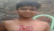 Bihar: Shocking! BJP supporter goes crazy over party's lanslide victory; carves PM Modi's name on his chest with knife