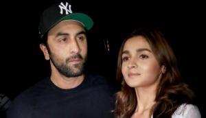 Brahmastra actors Ranbir Kapoor-Alia Bhatt ignore each other being at same location