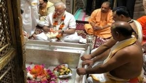 PM Modi in Varanasi for thanksgiving visit, offers prayers at Kashi Vishwanath temple
