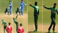 Watch: When MS Dhoni set the field for Bangladesh, bowler embarrassed, KL Rahul and umpire laughs