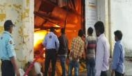 Delhi: Major fire breaks out at footwear factory in Keshav Puram