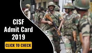 CISF Admit Card 2019: Head Constable hall tickets to be released after May 31
