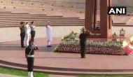 PM Modi Swearing-in: PM Modi pays tribute to jawans at National War Memorial