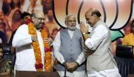 मोदी सरकार के मंत्रियों का ऐलान, अमित शाह गृह मंत्री, राजनाथ सिंह को दिया गया ये मंत्रालय