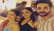 Bepannah fame Jennifer Winget had a bash on her birthday with Karan Wahi, Sehban Azim, Harshad Chopda; see pics and videos
