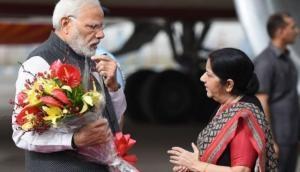 विदाई पर इमोशनल हुईं सुषमा स्वराज, PM मोदी के बारे में जो लिखा वह पढ़कर लोग बोले- प्लीज मत जाइए