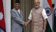 Prime Minister K P Oli invites PM Modi to visit Nepal