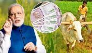मोदी सरकार का ऐतिहासिक फैसला, किसानों को 3000 रूपये प्रतिमाह देने का एलान