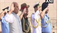 Rajnath Singh pays tribute to jawans at National War Memorial before formally taking over defence ministry