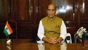 Rajnath Singh leaves for Rajasthan to inaugurate Emergency Landing Facility at NH-925A