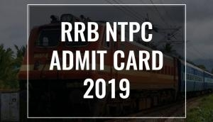 RRB NTPC Admit Card 2019: Check application status link, exam date and other important details for this region