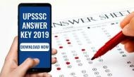 UPSSSC Answer Key 2019: Download Junior Assistant exam response sheet; here's how