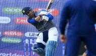 Watch: MS Dhoni hits the ball out of the park during team India's practice session