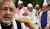 इफ्तार पार्टी में पहुंचे सुशील मोदी, गिरिराज सिंह का तंज- इसी शिद्दत से नवरात्रि का आयोजन कर लेते