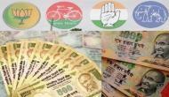 लोकसभा चुनाव में पानी की तरह बहाया गया पैसा, इतने हजार करोड़ रुपए हुए खर्च