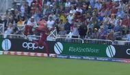 World Cup 2019: वेस्टइंडीज के इस गेंदबाज ने बाउंड्री लाइन पर स्टीव स्मिथ का पकड़ा शानदार कैच, देखें वीडियो