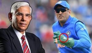 CoA chief Vinod Rai supports MS Dhoni over ICC order to remove Indian army tribute 'Balidaan' symbol