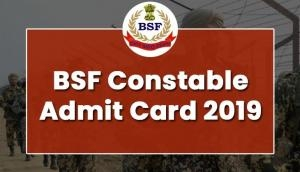 BSF Admit Card 2019: Released! Download e-hall tickets released for 1072 Head Constable vacancies