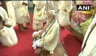 PM मोदी ने गुरुवायुर मंदिर में की पूजा, निभाया तुलाभरम रिवाज, डिजिटल पेमेंट से किया इतने रुपए का दान