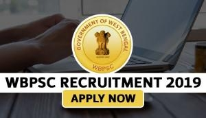 WBPSC Recruitment 2019: Apply for multiple vacancies; salary upto Rs 37,000