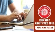 RRB NTPC Admit Card 2019: Railways to release hall tickets for first stage exam this month; read details