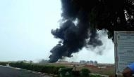 Goa airport closed temporarily in view of fire incident caused by drop tank of MiG-29K aircraft: Navy officials.
