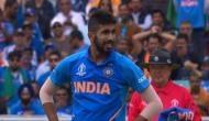 World Cup 2019: अनलकी रहे बुमराह, विकेट में लगी गेंद फिर भी नहीं मिला विकेट, देखें Video