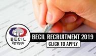 BECIL Recruitment 2019: Job alert! 11,000 vacancies for 8th pass; check eligibility criteria