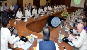 Andhra Pradesh: CM YS Jagan Mohan Reddy holds his first cabinet meeting
