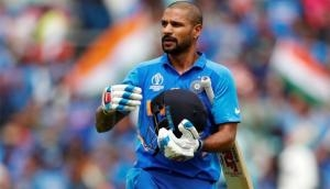 Shikhar Dhawan bids adieu to team India with an emotional message; see video