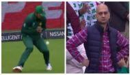 World Cup 2019: पाकिस्तानी गेंदबाज ने छोड़ा कैच, लोग बोले- दर्शक बाउंड्री क्रास कर मारना चाहता था थप्पड़