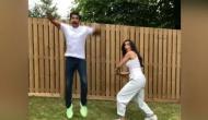 Video: क्रिकेट के बल्ले से दीपिका ने कर दी रणवीर की धुनाई, ट्विटर पर रोया दुखड़ा