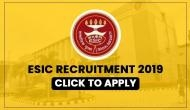 ESIC Recruitment 2019: Latest job opportunity for Faculty and other posts; earn upto Rs 1,77,000 per month