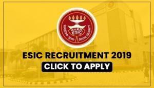 ESIC Recruitment 2019: New vacancies released for 60-year-old; salary upto Rs 1 lakh