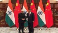 PM Modi meets Chinese President Xi Jinping  in Bishkek