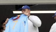 Here's why Ravi Shastri displayed MS Dhoni's jersey from Nottingham balcony