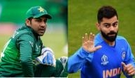 India captain Virat Kohli is supporting Pakistan in World Cup match against New Zealand