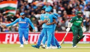 IndVsPak: वर्ल्डकप में सातवीं बार भी भारत से नहीं जीत पाया पाकिस्तान, 89 रनों से मिली मात